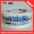 Low Noise Bopp Tape Adhesive Tape With Company Logo