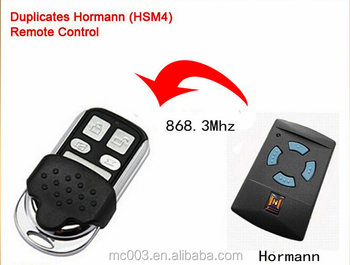 868 remote hormann garage door opener mini transmitter replace