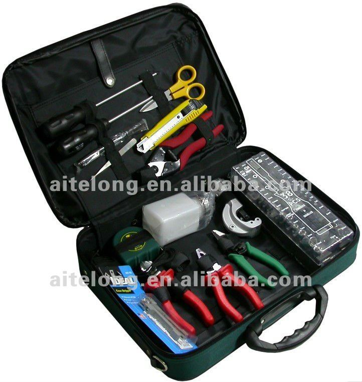 Professional Fiber optic splicing Tools kit
