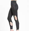 90% polyester 10% spandex mature women active wear athletic clothing leggings