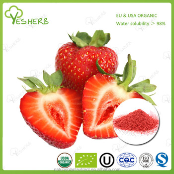 Bulk supply fresh fruit powder strawberry concentrate strawberry juice powder