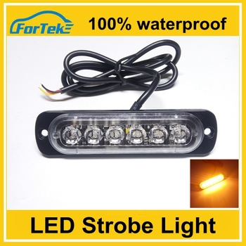 12v strobe light side marker led flashing light with 100% waterproof