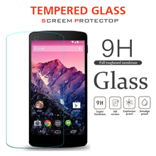Wholesale 9H hardness 0.33mm tempered glass screen protector for google nexus 7