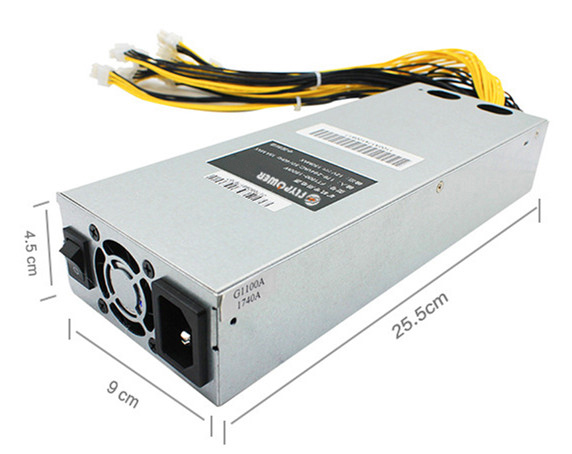 power <strong>supply</strong> 1800 watts for Antminer Bitcoin mining for S9 S7 L3+D3 APW3 Ant Series