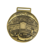 China manufacture custom cheap wholesale running sport finisher metal marathon medal awards