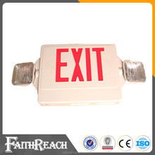 RED ETL listed rechargeable emergency exit signs led