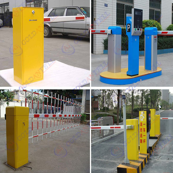 Wholesale stainless steel automatic long range card reader manual parking barrier
