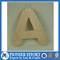 small wood letters for crafts pine wood natural color varnish paint