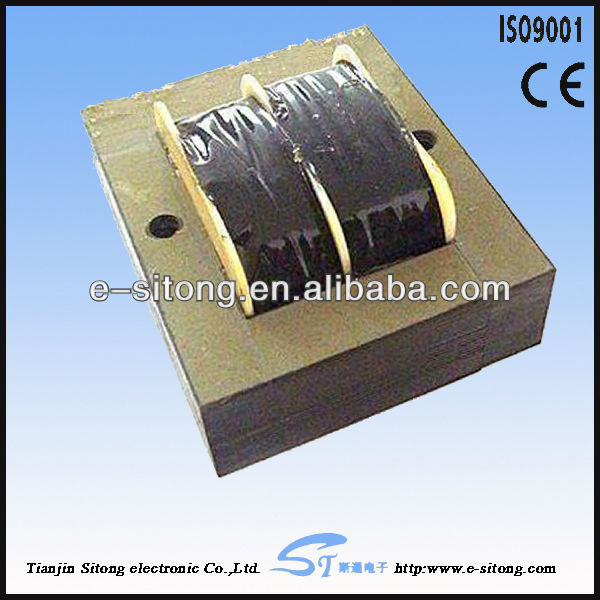 Electronic single phase step down transformer