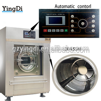 CE Certified Front Loading Automatic Washing Machine,25-120kg commercial laundry washing machine price ,hotel laundry equipment
