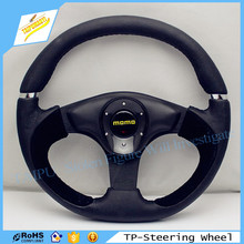 Modified Car 14 Inch Leather Black Sport Steering Wheel