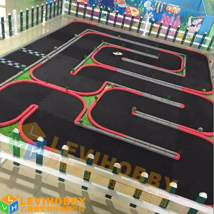 levi hobby party game for kids 3x4m mini car race track rc track