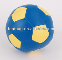 cheap funny PU leather football from China