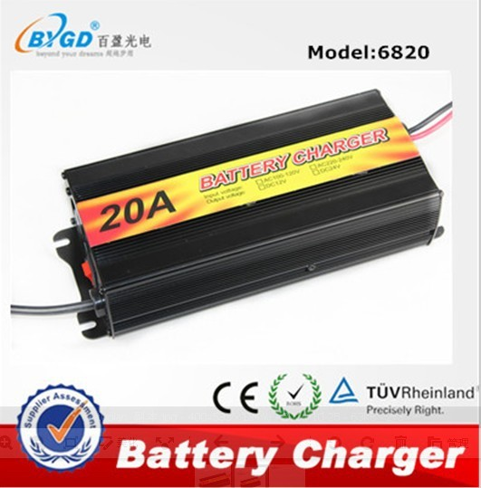 battery charger 20A 220V 12V manual for power bank battery charger