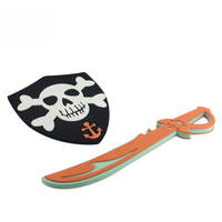 Play shield wholesale foam sword toy pirate set eva foam sword