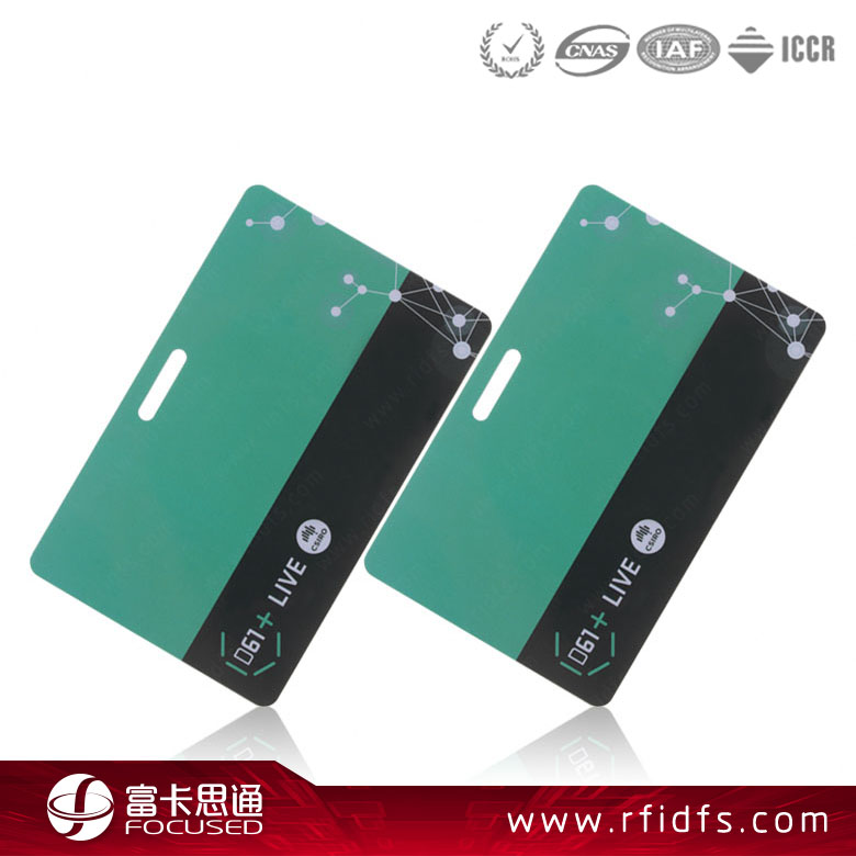 New Design Pvc 13.56Mhz Nfc Business Card For Access Control