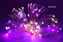100 led best selling Christmas garden led fairy string light,light string for city decoration