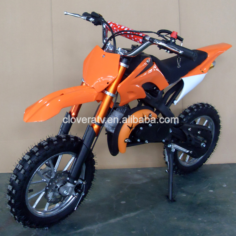 Chinese Professional Used 2 Stroke Mini Motorbike 49CC Dirt Bike Motorcycle
