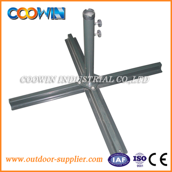 outdoor cross umbrella base