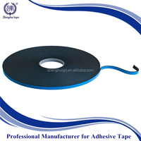 blue release film + acrylic double sided foam tape/ heat resistant high adhesion PE foam tape