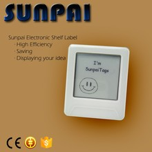 Sunpai mini e-ink rfid esl supermarket display price tag