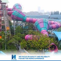 Hot sell China factory supply giant inflatable water slide for adult wholesale