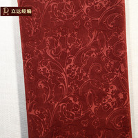 Super quality durable fabric embossed butterfly