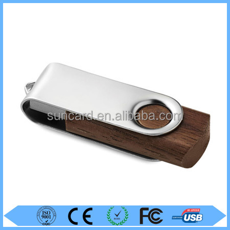 Free sample colorful wood usb thumbdrive