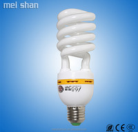 China manufacture T3 half spiral 11w fluorescent light
