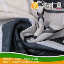 Promotional ink-jet printing 75d twill blue rib knit fabric for making underwear and lingerie