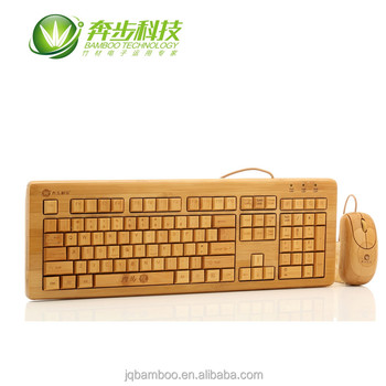 created bamboo office useful wired keyboard& mouse combo