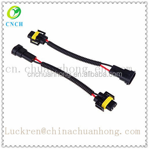 2 unids h8 h9 h11 arn u00e9s de cableado socket coche conector de cable adaptador de enchufe para hid