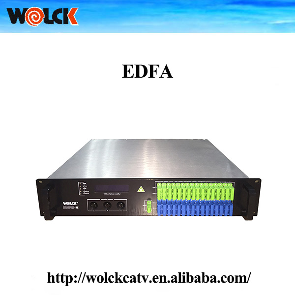 2U 1550nm Amplifier EDFA/EDFA CATV, 16/32port EDFA combiner offering