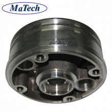 Custom Services Ductile Cast Iron Cable Pulley Wheels
