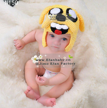Wholesale 2013 high quality hand made animal baby beanie hats cute crochet hat patterns