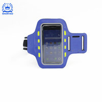 LED Cell Phone Holder Case Arm Band Strap For Exercise Running