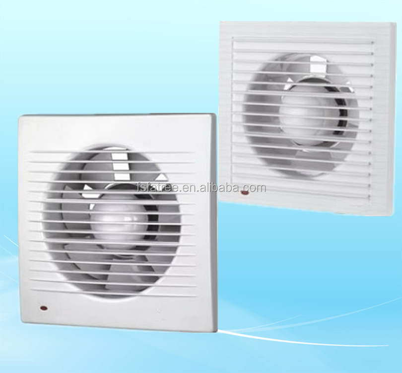 HOT ABS Plastic Kitchen Exhaust Fans With Light Polite