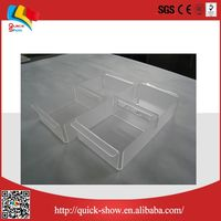 lucky draw display acrylic box