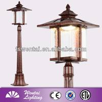 decorative solar light parts