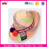 New arrivel high quality cheap straw wayuu hat fashion hat