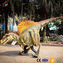 Adult Plays Life Size Adult Walking Dinosaur Costume