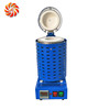 JC Mini Melting Furnace for Melting Lead Zinc Brass Aluminum Metals