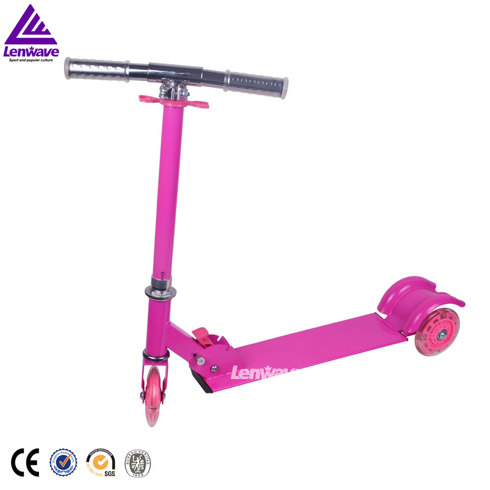 China supplier cheap used folding child kids kick scooter