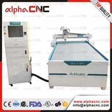Factory high quality 1325 4*8ft sign advertising industry acrylic ABS double plate furniture wood mdf CNC router machine