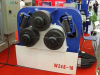 W24S-16 section bending machine pipe bender ,square tube bending machine,angle bending machine