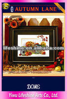 diy beautiful scenery cross stitch supplies wholesale hand embroidery needles for home decoration