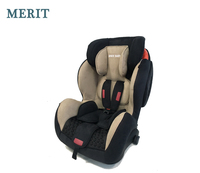 Baby Car Seat hot sale for car travelling yellow for 9 to 36kgs children Group 1+2+3 ISO fix latch ECE R44/04