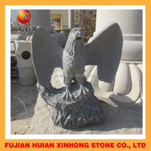 Big high quality flying eagle stone statue for decoration