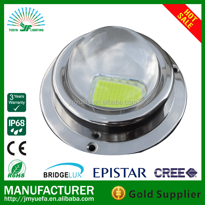 led 100w boat light white color 24v/316ss seawater marine lights/waterproof ip68 led under seawater submarine flood yacht light