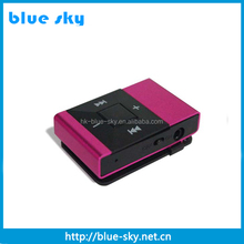 Hot selling clip MP3 Player, portable car audio mp3 cd player adapter